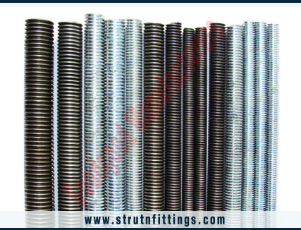 threaded rods, thread bars manufacturers in india, high